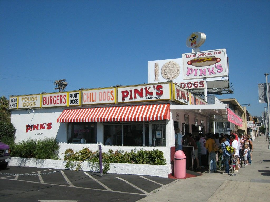 Pin By Diana Syvertsen On Nostalgia Hot Dog Stand Pink S Hot Dogs Hot Dogs