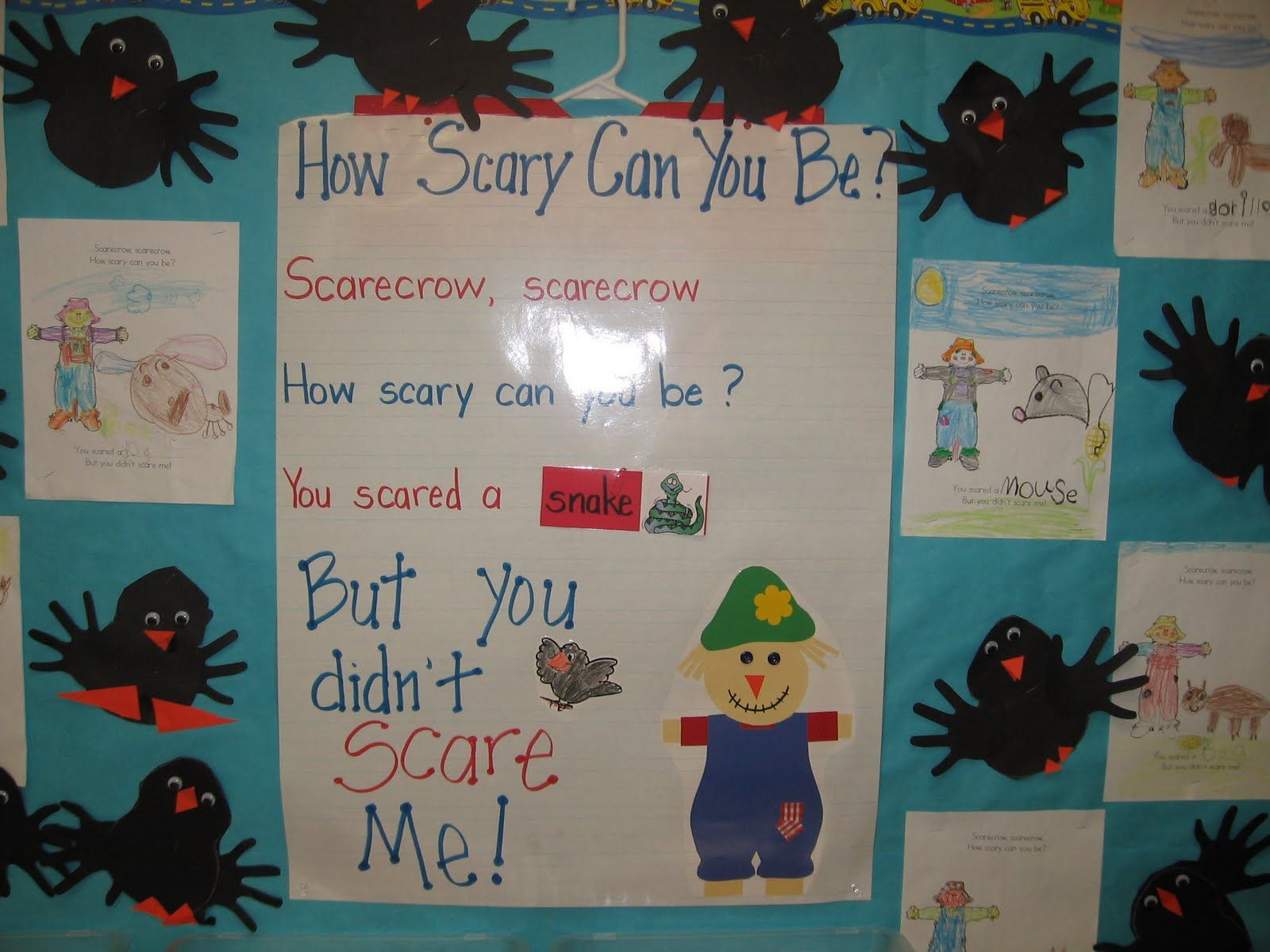 Scarecrow, Scarecrow- How scary can you be?- You scared a *snake ...