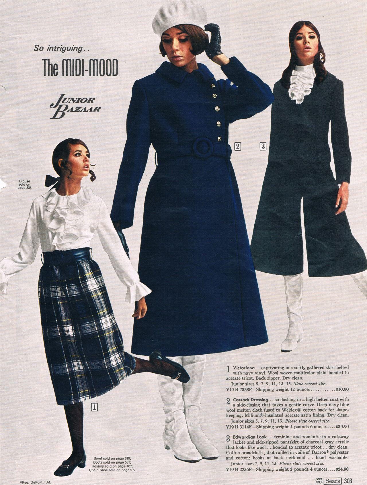 Colleen corby modelando dentro del catálogo americano sears s