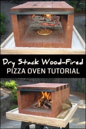 Build a dry stack wood-fired pizza oven comfortably in one ...