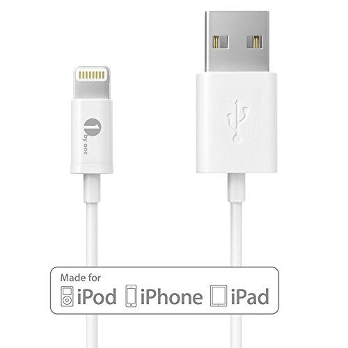 [Apple MFI Certified] 1Byone Lightning to USB Cable 3.28ft (1M) for iPhone 6 6 Plus, iPhone 5/5s/5c, iPad with Retina display, iPad mini, iPad Air, iPod nano 7th Gen and iPod touch 5th Generation-1-Year Limited Warranty Check more at http://www.techflair.com/store/apple-mfi-certified-1byone-lightning-to-usb-cable-3-28ft-1m-for-iphone-6-6-plus-iphone-55s5c-ipad-with-retina-display-ipad-mini-ipad-air-ipod-nano-7th-gen-and-ipod-touch-5th-generation-1-ye/