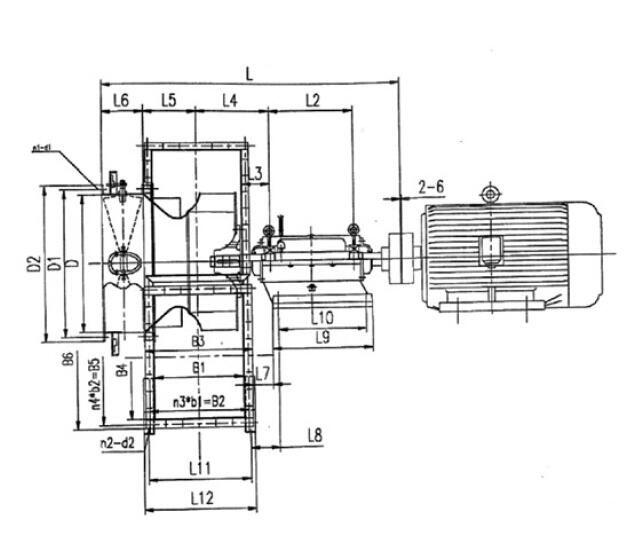 Centrifugal Fan Schematic Diagram