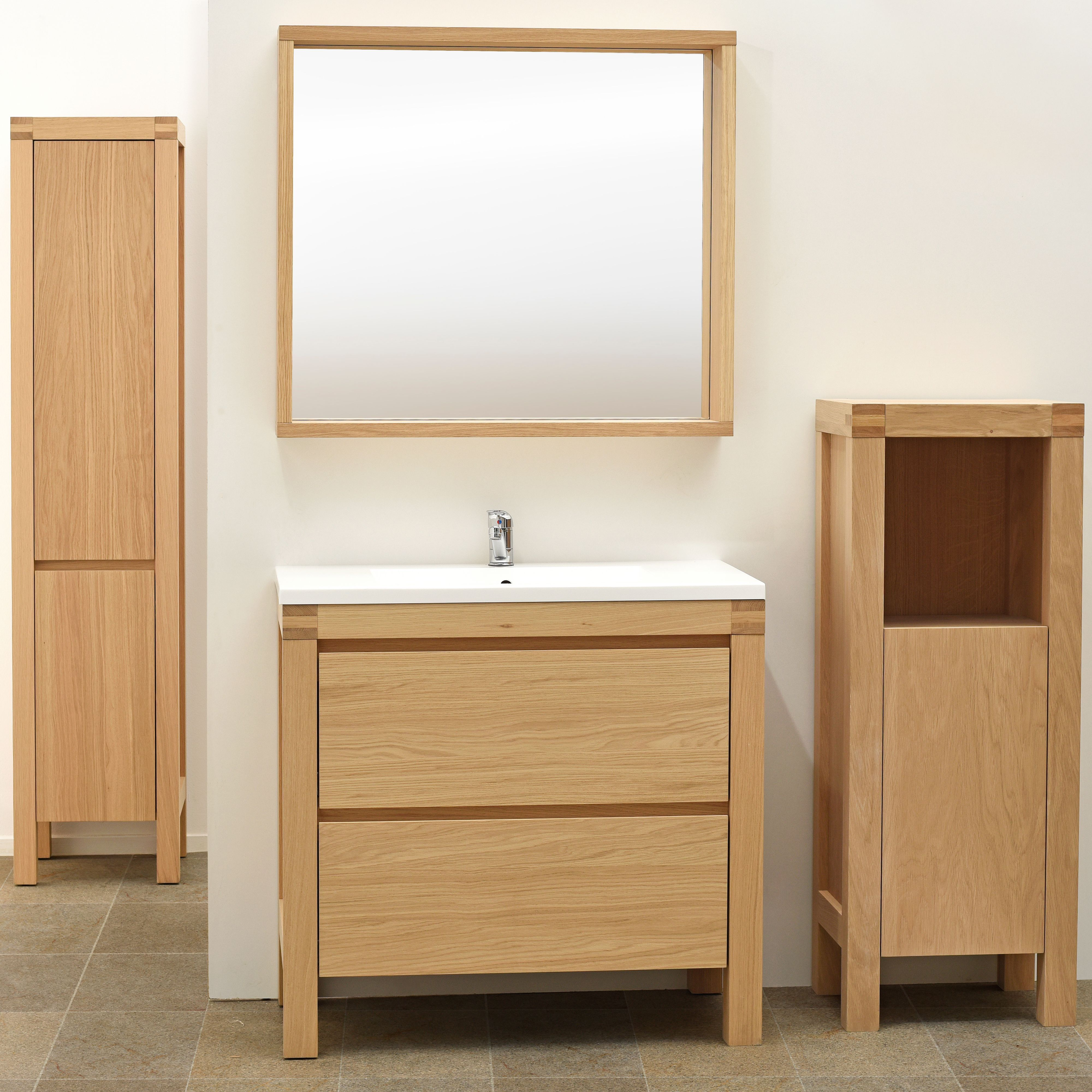 Quality vanity units bathroom - Add A Modern Touch To Your Bathroom With The Erwan Range With A High