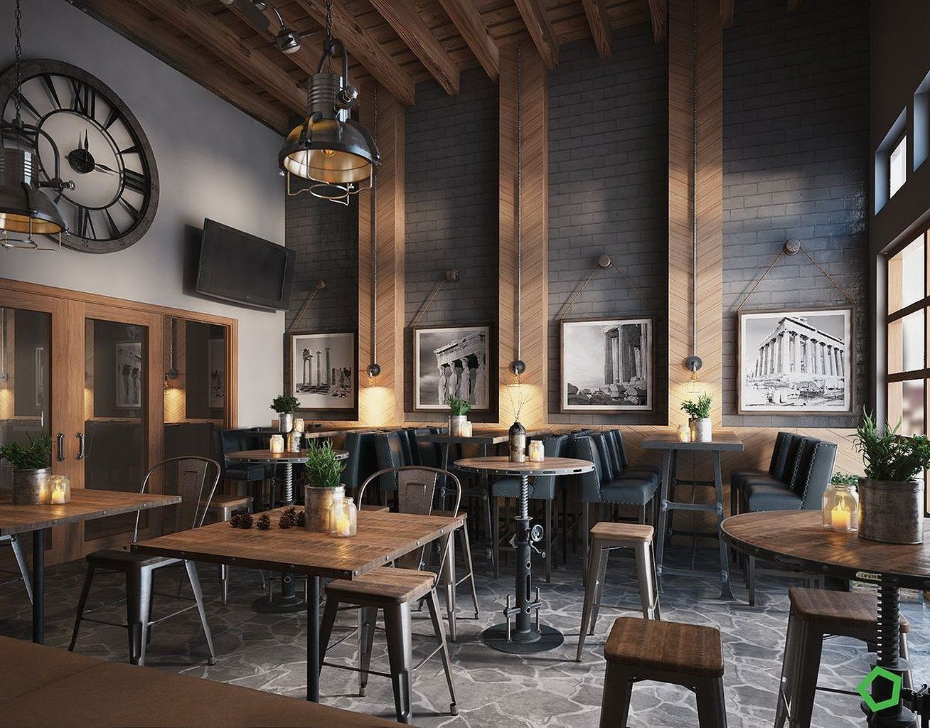 These Are The Bar Design Ideas You Want To Take Into Consideration When Choosing Your Home Dar Http Cafe Bar Design Cafe Interior Design Restaurant Decor
