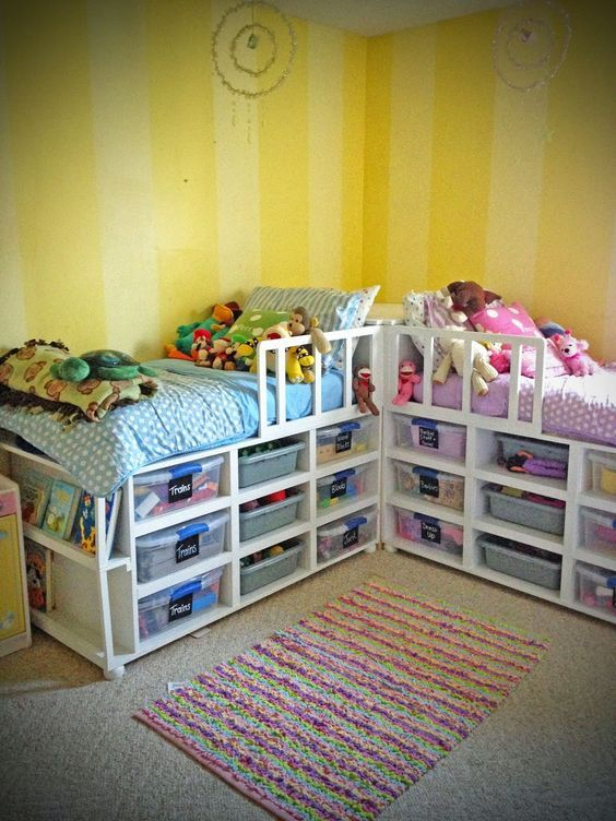 From Being Diy Toddler Storage Beds Bed