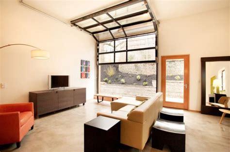 Convert Garage To Living Space Garage Door Design Garage To Living Space Modern Studio Apartment Ideas