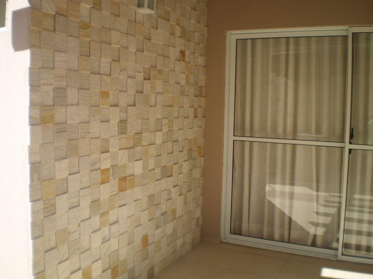 Revestimento de parede externa em pedra - Revestimiento de pared ...