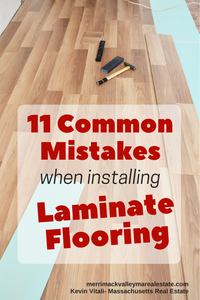 11 Common Mistakes When Installing Laminate Floors Laminate