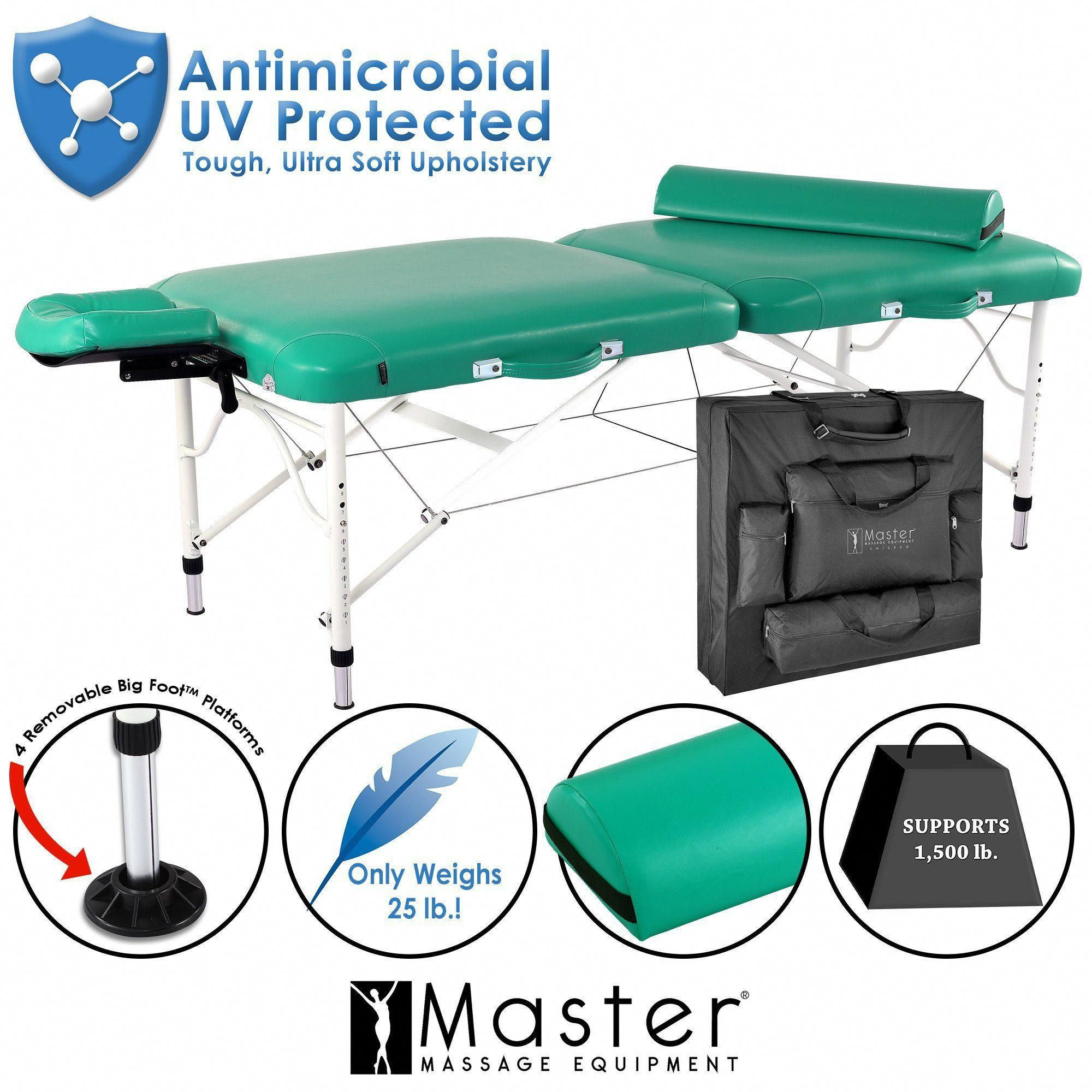 "Master Massage 30"" Calypso LX Portable Massage Table"