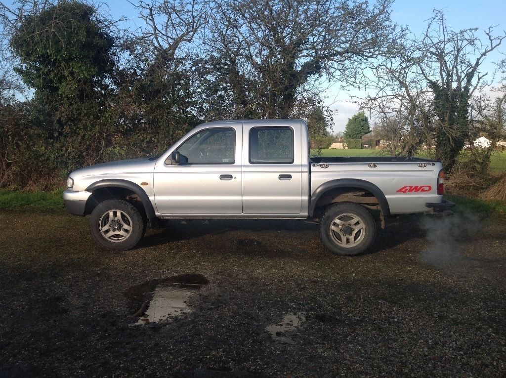 1999 V Plate Mazda B2500 Double Cab Pickup Good Clean Truck For