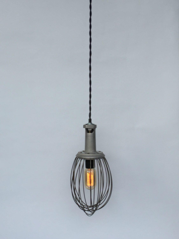 Industrial Whisk Lamp, Reclaimed Lighting, Hobart Whisk, Industrial ...
