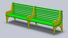 PVC bench