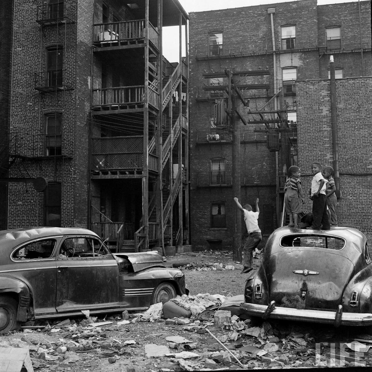 South Side Chicago 1950s | Gritty Cities (Chicago ...