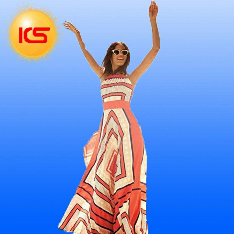 Plus Size Elegant Sexy Suspenders O-Neck Maxi Dress Brand New Women Dress Sleeveless Party Dress 2015 Summer Style.$25.Large to Xl