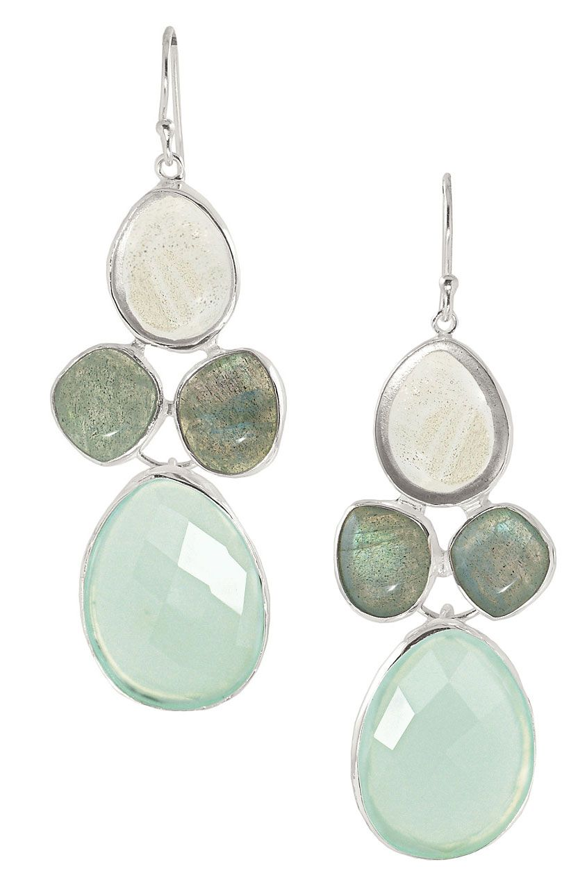 Cabochon Stone Glass Chandelier Earrings Sanibel Chandeliers Stella Dot