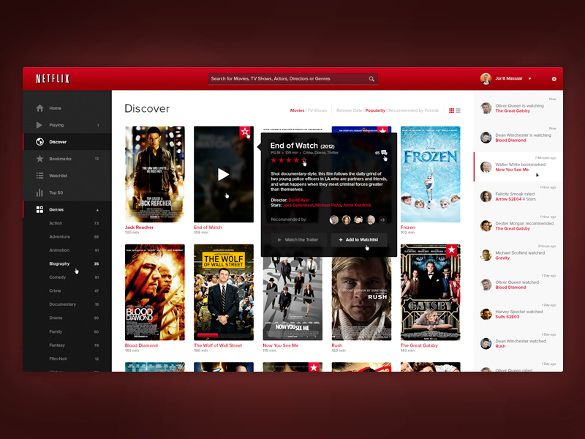 Netflix App Designs 10 Psd Eps Format Download In 2020 Netflix App App Design Netflix