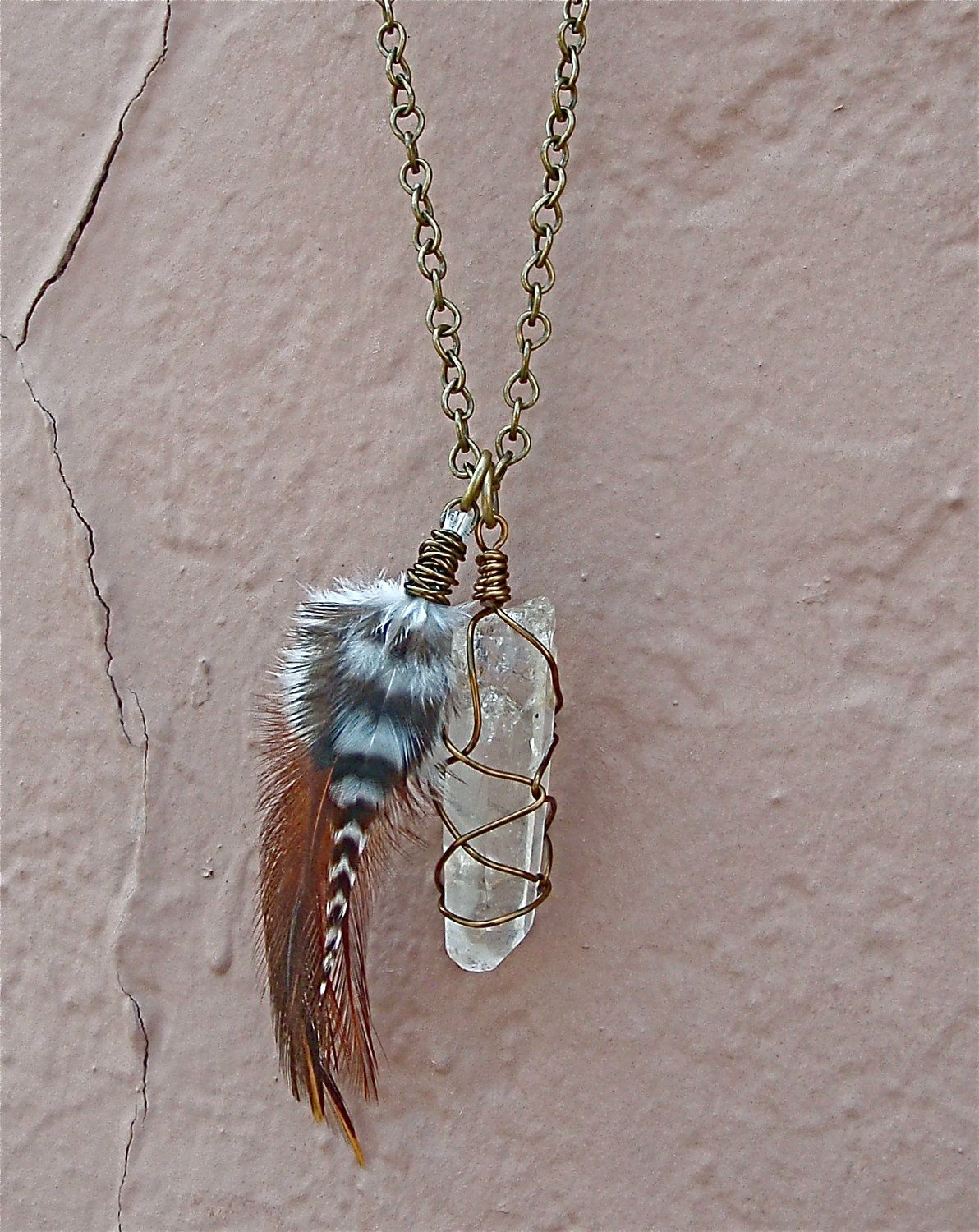 Flying Crystal Necklace