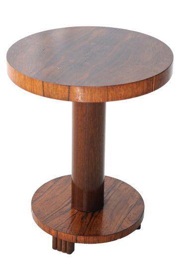 ART DECO SIDE TABLE BELGIUM 1930's