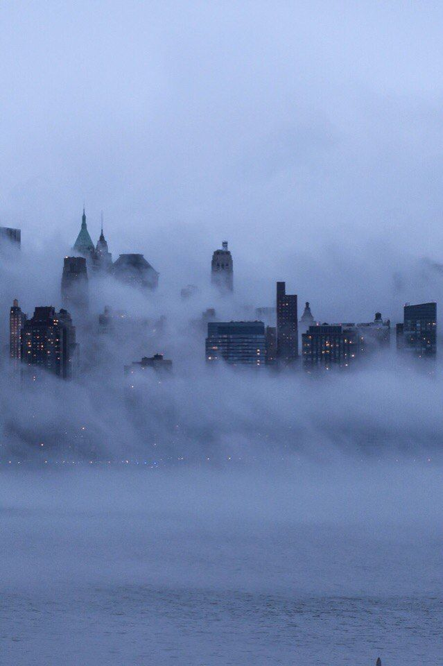 все картинка тумана в городе мануале