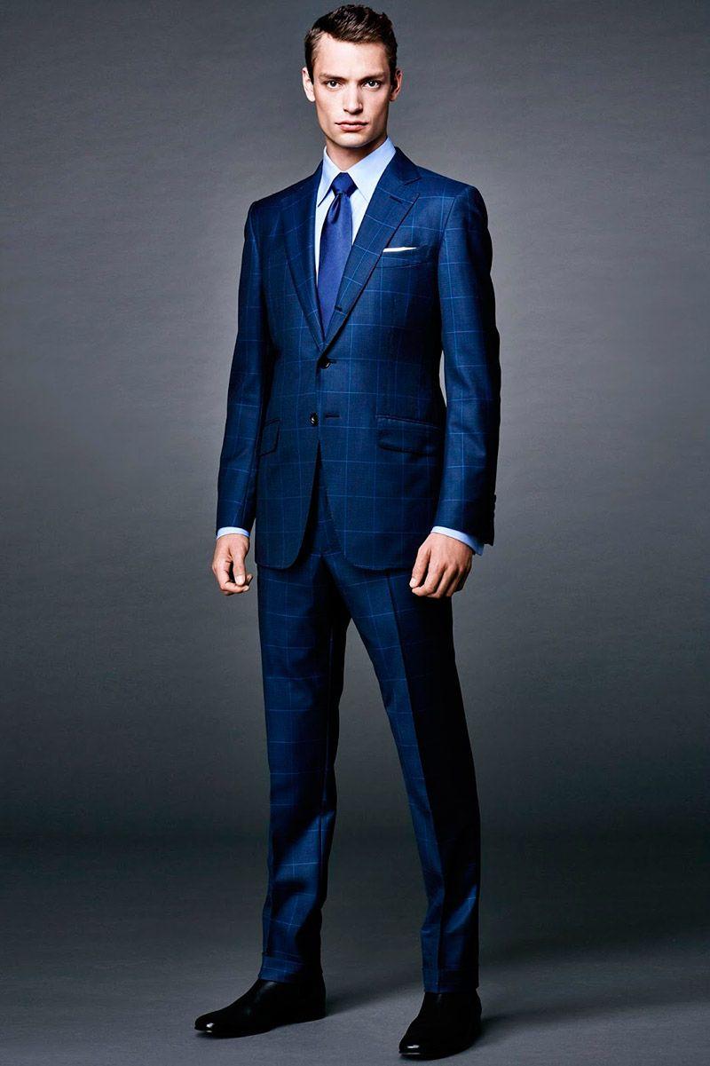 tom ford x james bond gentlemen style blauer anzug. Black Bedroom Furniture Sets. Home Design Ideas