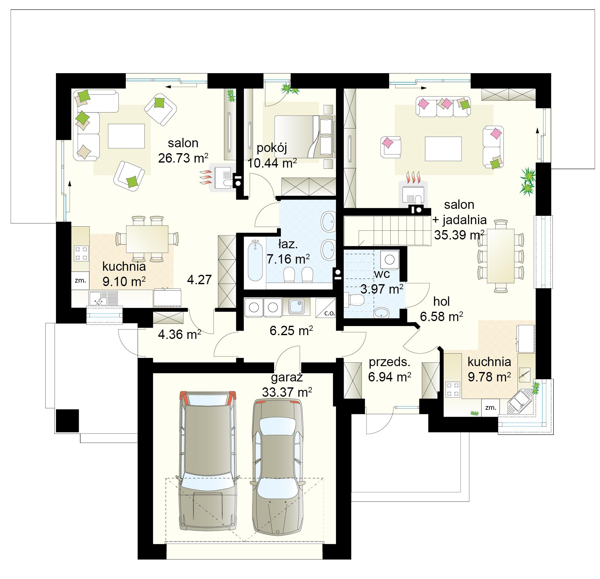 Dwupokoleniowy 7 Domowe Klimaty Floor Plans Doms