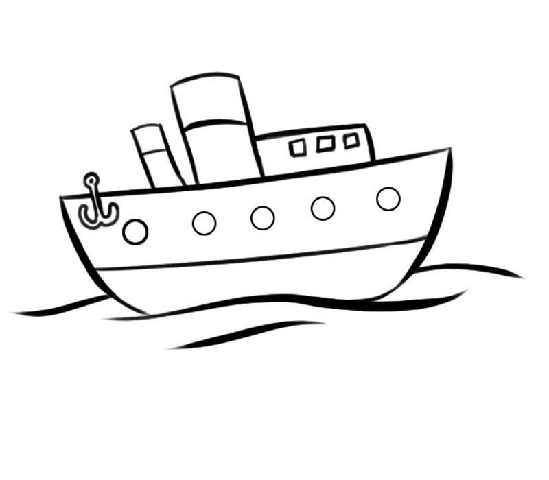 Barco Para Colorear Coloring Pages Colorful Pictures Color