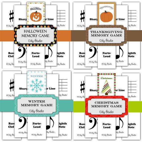 Musical Memory Fall Winter Set