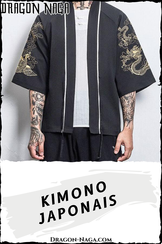 Kimono Japonais | Dragon-Naga.com en 2020 | Vêtements