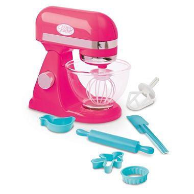 Little Gourmet Kids Stand Mixer Fuchia Pink Kids Stand