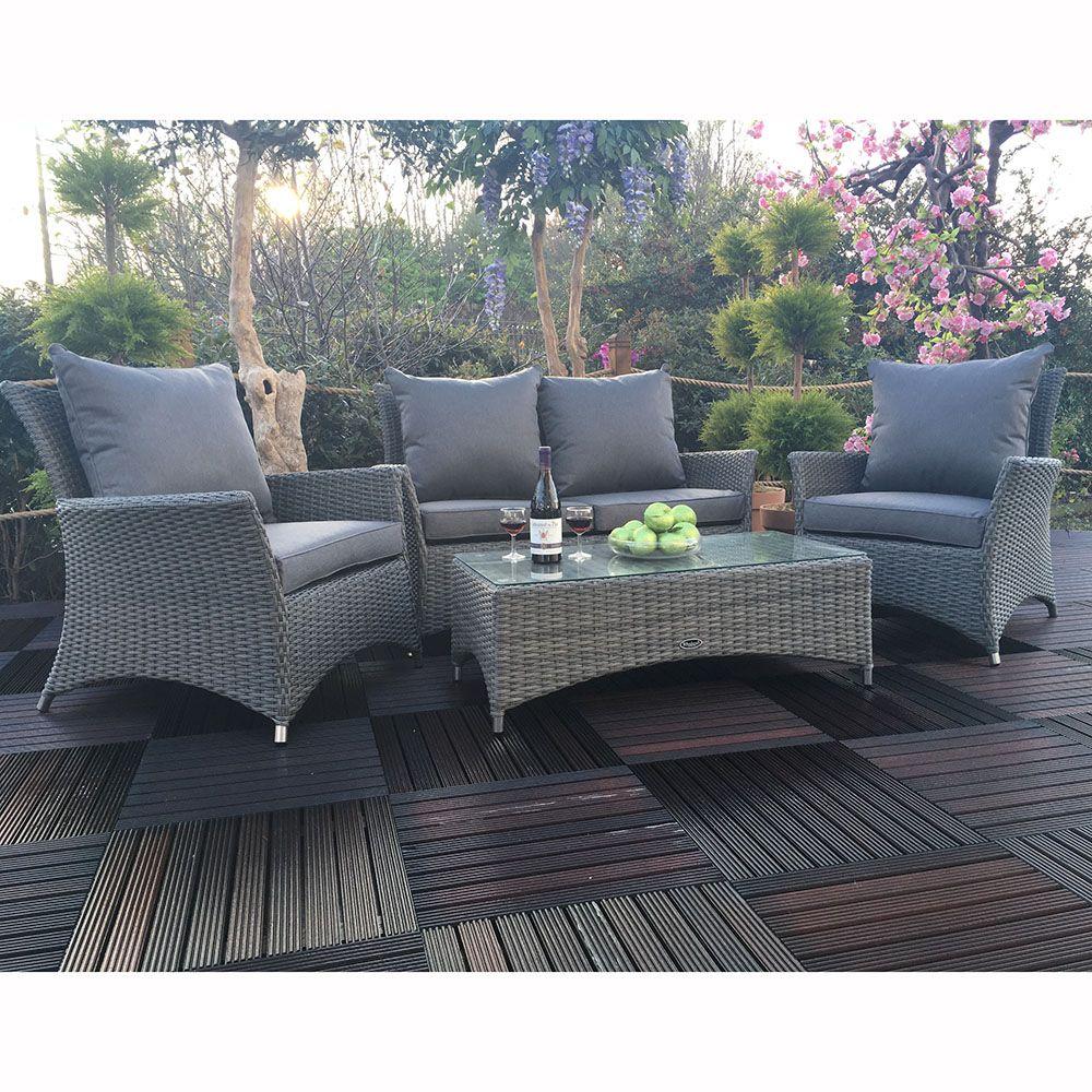 Royal Craft Paris 4 Seater Lounge Set – The UK\'s No. 1 Garden ...
