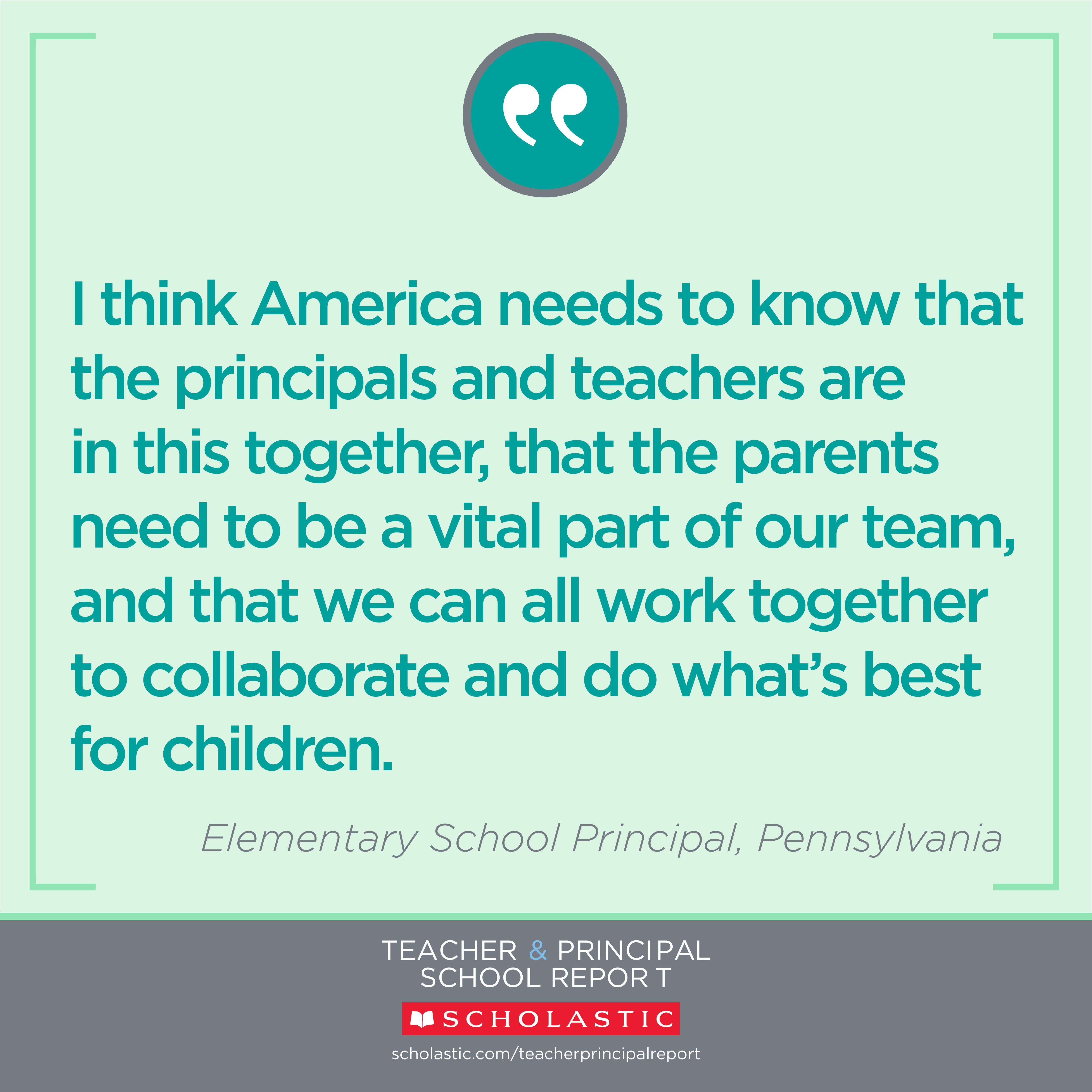Principals Vital Part Of Special >> Pin By Scholastic On Teacher Principal School Report Student