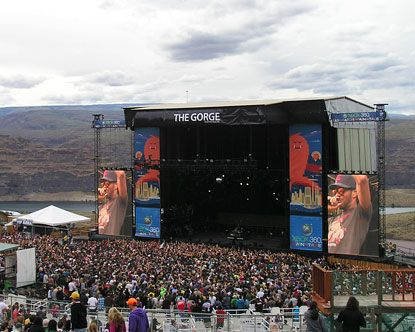 The Gorge Amphitheatre Gorge Amphitheater Seating The Gorge Amphitheater Amphitheater Gorges