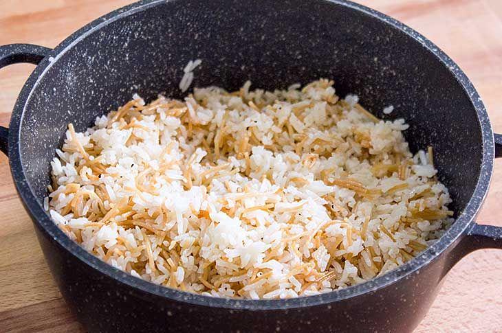 Rice Pilaf Recipe Mom S Notes Recipes Pilaf Recipes Rice Pilaf