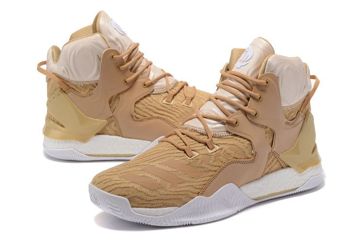 13bb3800e66c adidas D Rose 7 Derrick Rose Oatmeal Khaki White Men Basketball Shoes BB8214