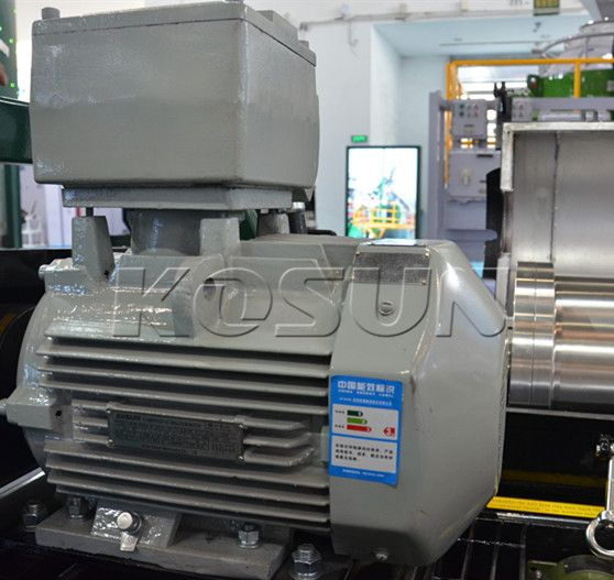 KOSUN decanter centrifuge motor. http://www.xakx.com/solids-control-equipment/decanter-centrifuge/