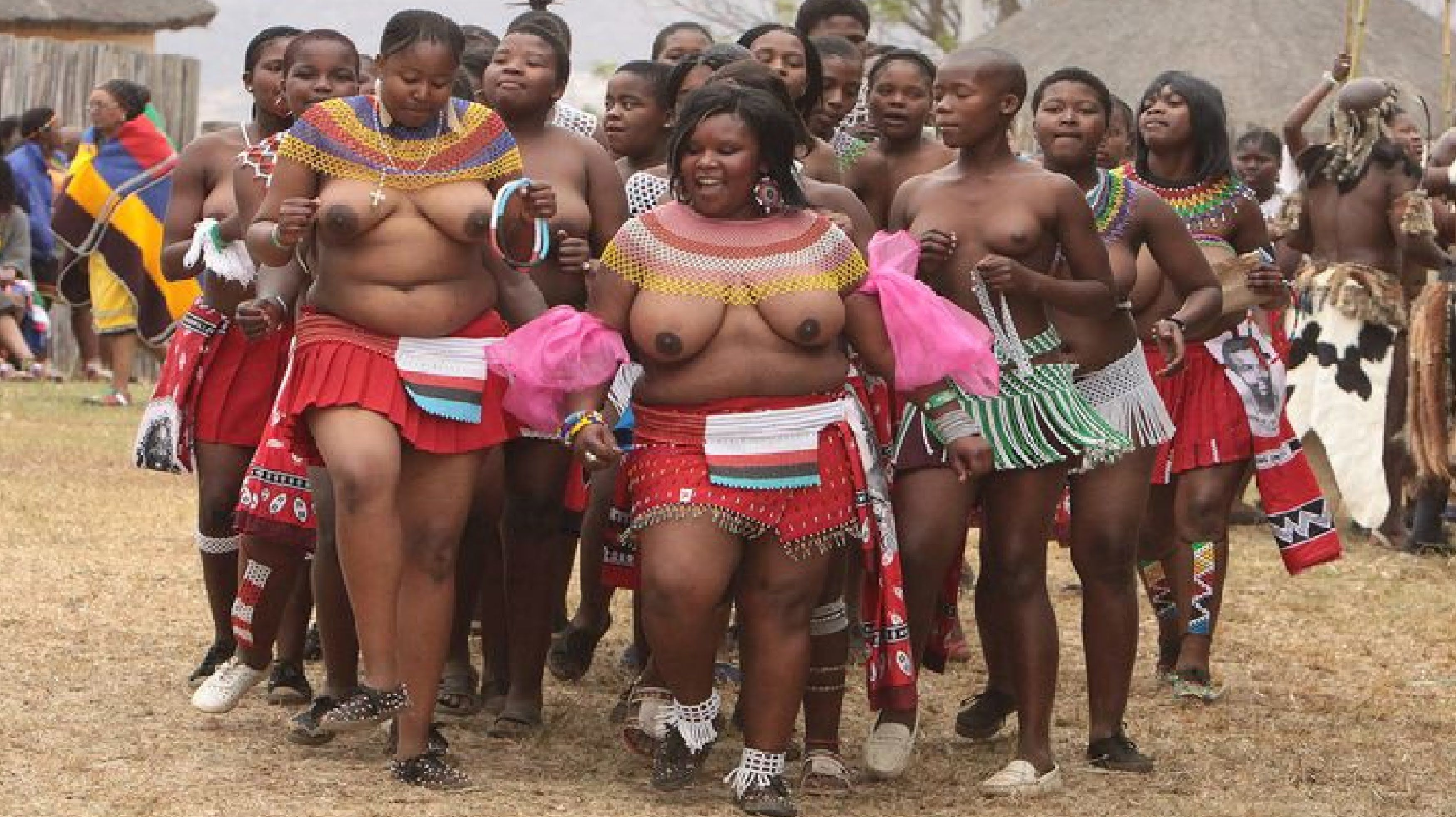zulu girls dance nude