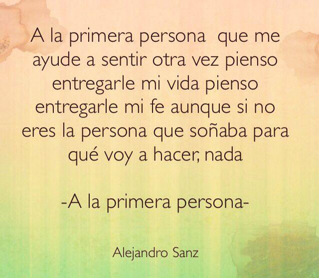 Alejandro Sanz Letras De Canciones Lyrics Letras De Canciones