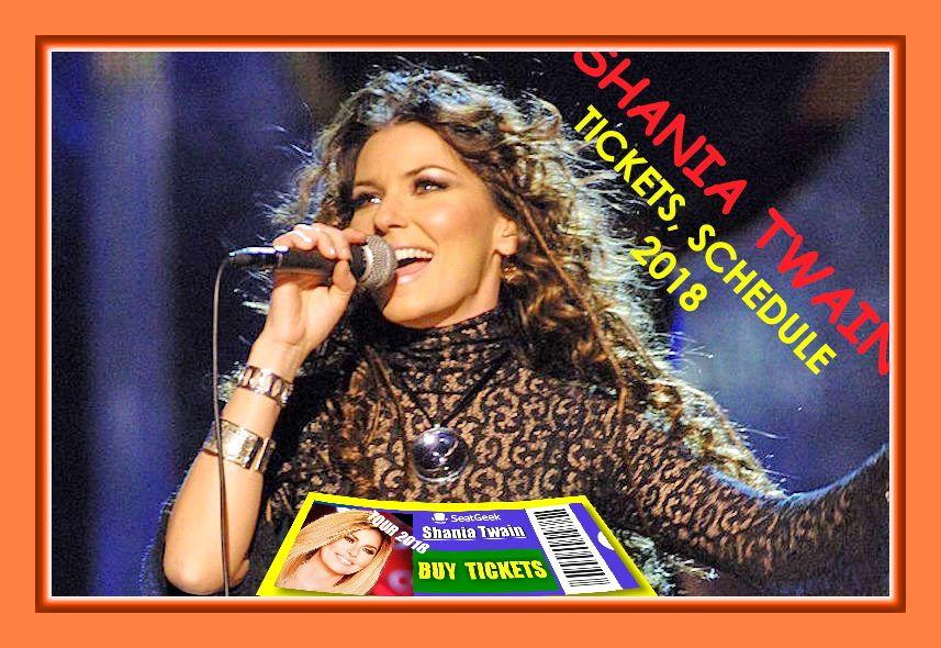 Shania Twain Tour - Tickets, Dates & Concert Schedule