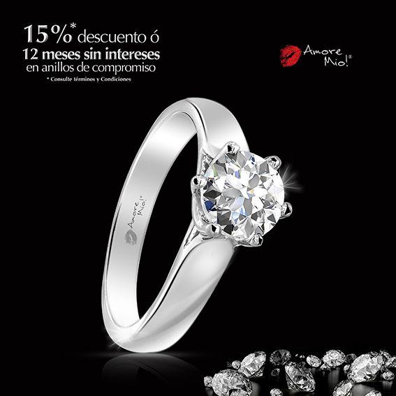 Anillo de Oro Blanco SKU: WG1430005 Diamante Redondo 0.47 quilates. Color- H, Claridad VS1 Laboratorio - GIA-DGC, SKU Diamante: 39254, Precio: $28,748.19 pesos M.N -15% = $24,435.97 pesos M.N. *Consulte términos y condiciones.