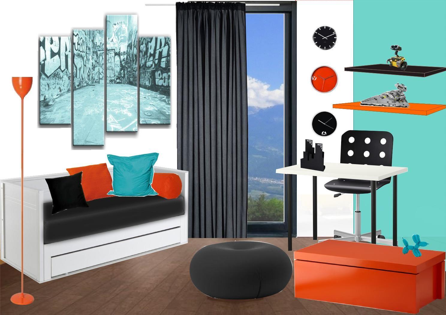 Couleur tendance chambre fille ado recherche google chambre home decor curtains et decor - Couleur tendance chambre ...