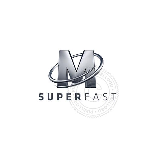 Letter M Logo Metal M 3d Logo Pixellogo Letter M Logo Letter Logo Design Logo Design Free