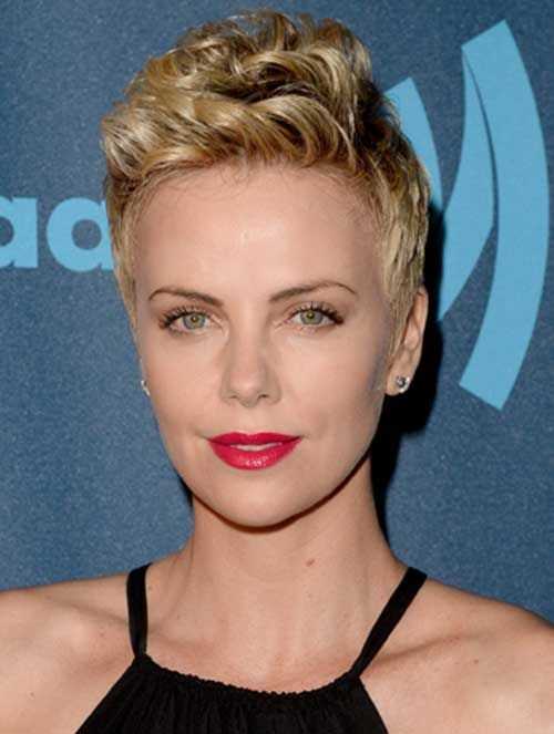 15 Charlize Theron Pixie Cuts | http://www.short-haircut.com/15-charlize-theron-pixie-cuts.html