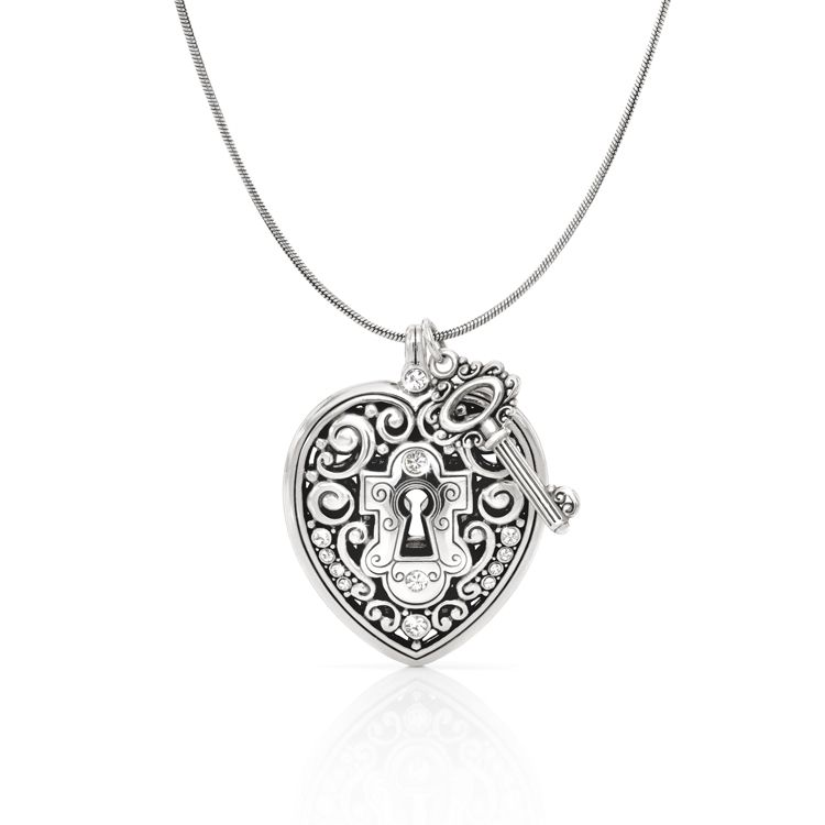 I have this one, and it's one of my favorites.  Brighton Heart 'N' Key Long Necklace