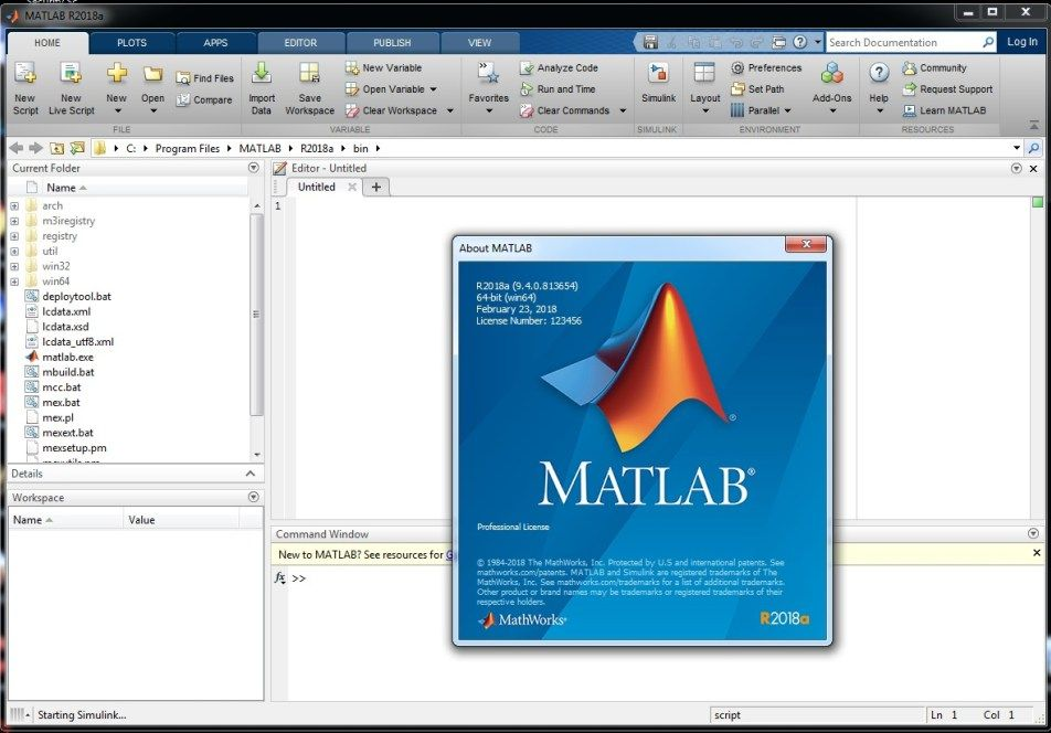 Working with MathWorks MATLAB R2018a full license | FULL SOFTWARES
