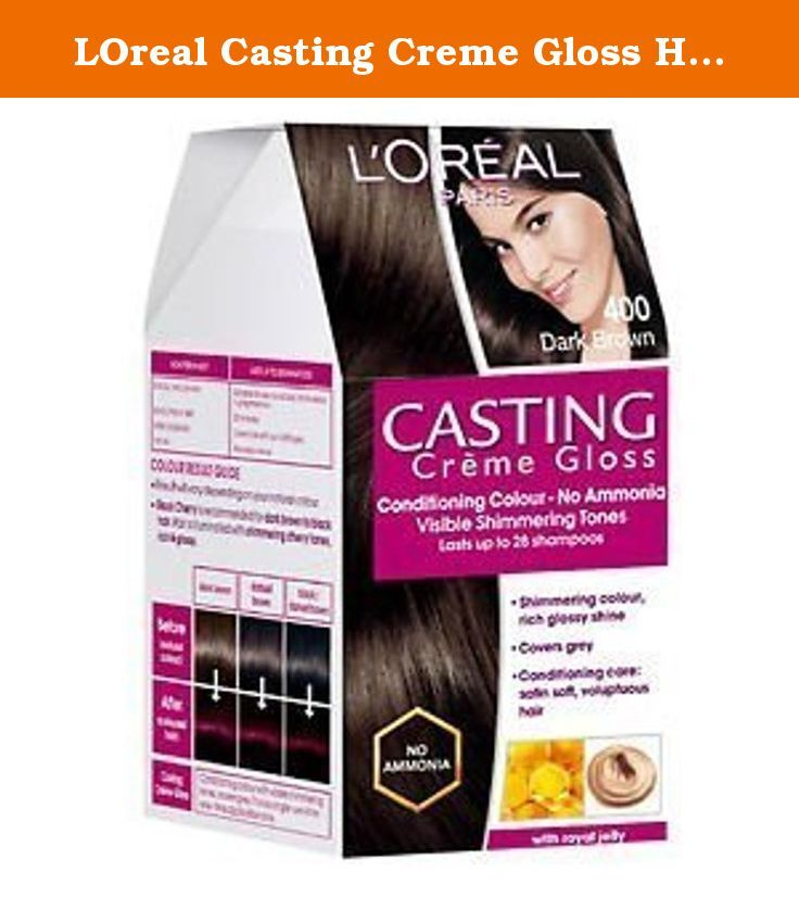 Loreal Casting Creme Gloss Hair Color Dark Brown 400 Feeling