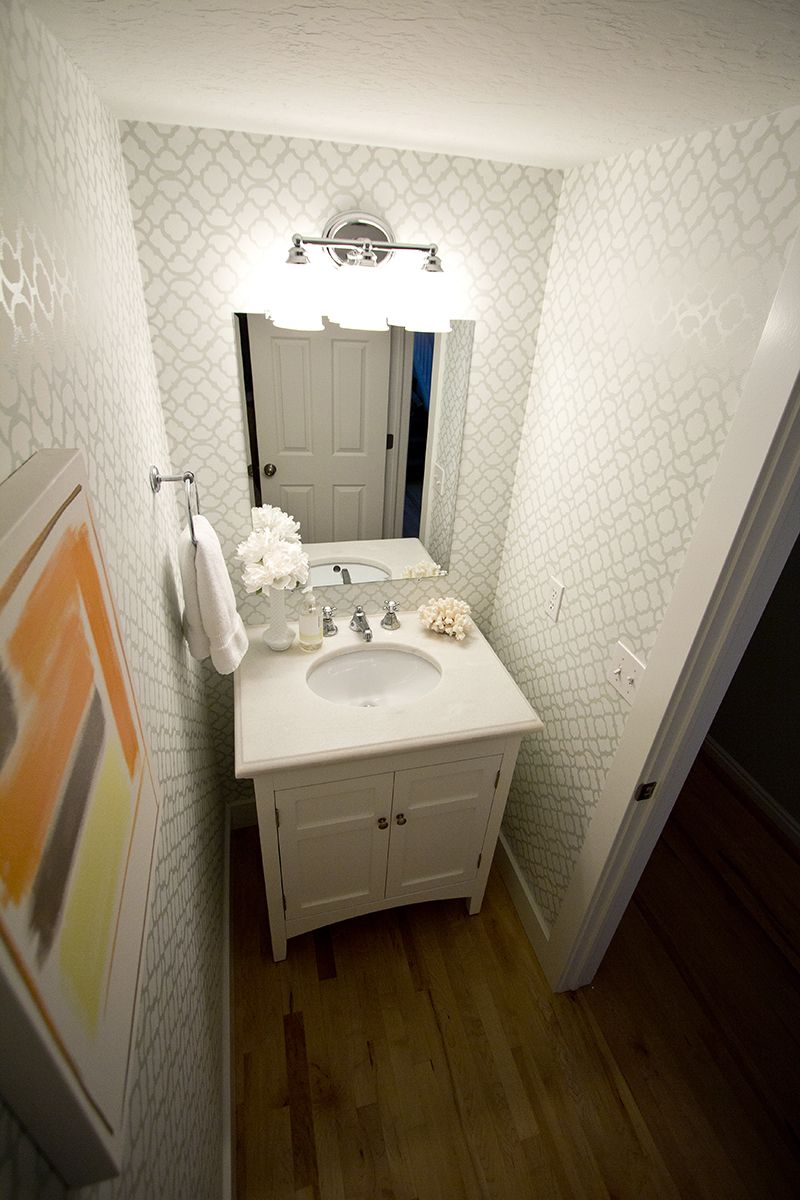 Guest Bathroom Wallpaper Ideas