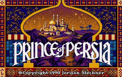 Prince Of Persia Ms Dos Prince Of Persia Persia Classic Games