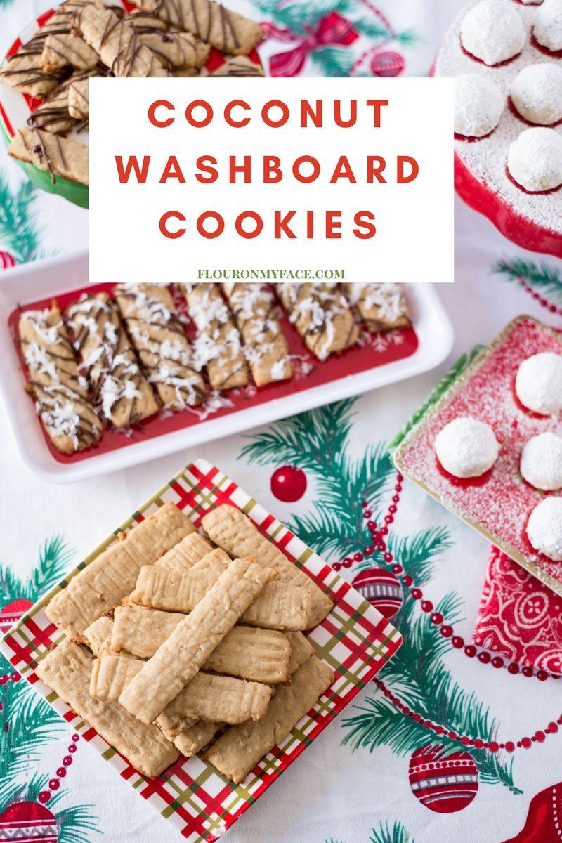 Old Fashioned Coconut Washboard Cookies Recipe Wedding