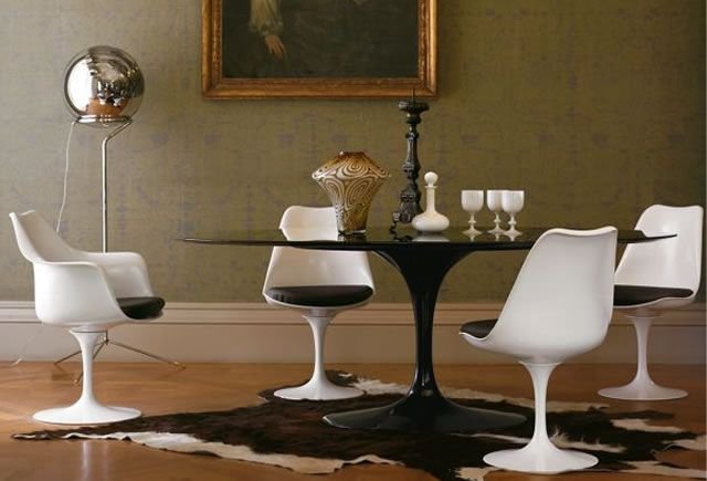 Saarinen knoll international decor dining