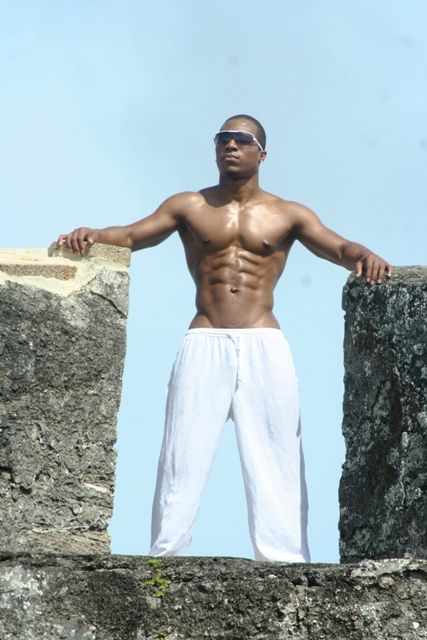 Sexy Black Men Pictures - Hosea Crowell
